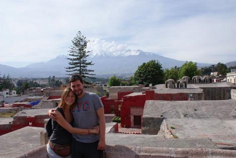 Arequipa au Pérou, Couvent Santa Catalina